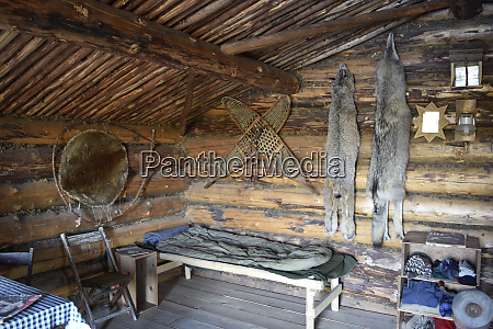 usa alaska fairbanks chena indian village