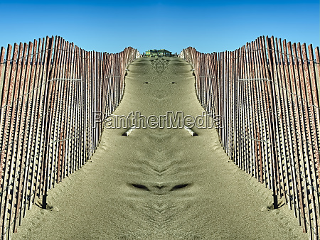 artistic rendition of dune fences grand