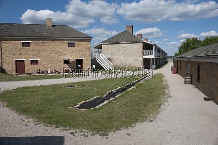 minnesota minneapolis fort snelling backside of