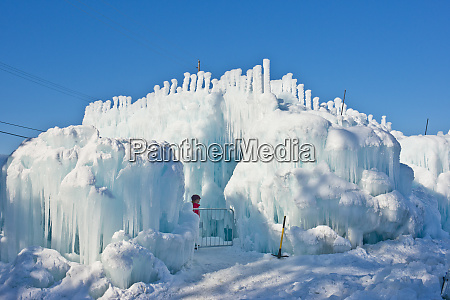 usa minnesota stillwater ice castles