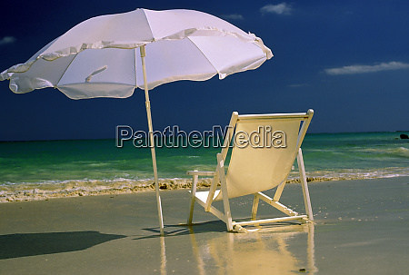 usa hawaii beach chair and umbrella