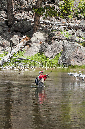 fly fishing in the snake river