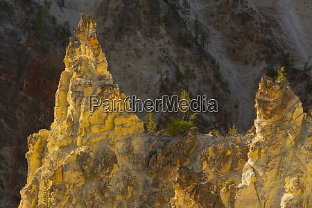spires artist point grand canyon of
