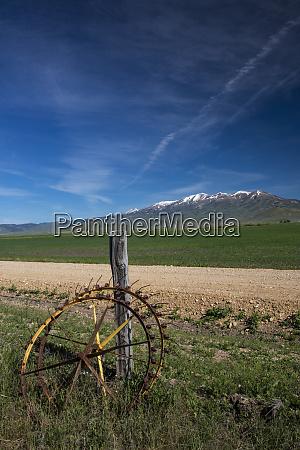 usa idaho fairfield old iron hay
