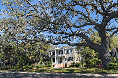usa south carolina beaufort tabby manse