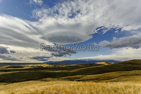 lenticular clouds montana