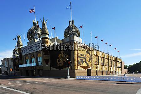 usa south dakota mitchell corn palace