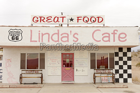 lindas cafe valentine arizona usa route