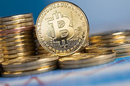 virtual money currency bitcoin coins