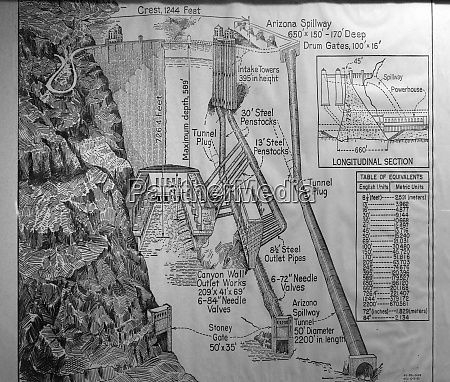 usa arizona archival drawing of the