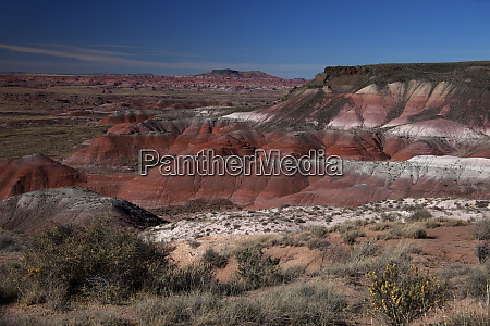 usa arizona painted desert pintado point