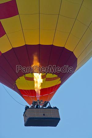 firing up taking off ballooning coconino