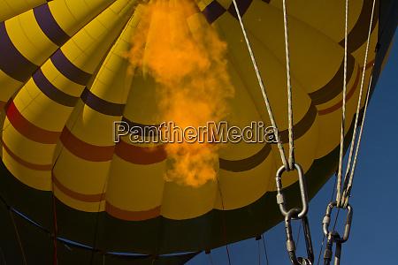 firing up in flight ballooning coconino