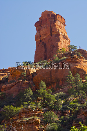 view, from, fay, canyon, , chimney, rock, - 27824814
