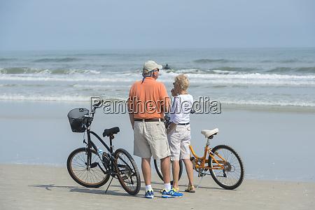 usa florida new smyrna beach couple