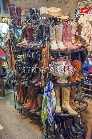 cowboy boots gruene texas usa