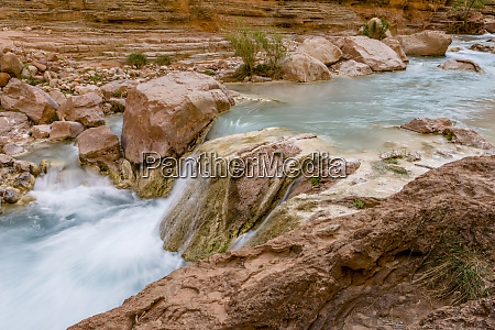havasu creek mineral colored water grand