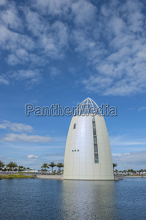exploration tower port canaveral florida usa