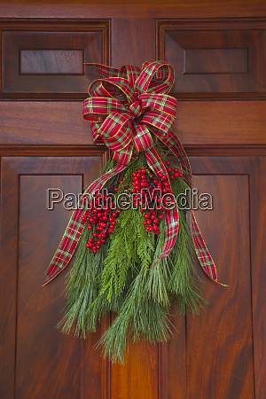 usa georgia savannah christmas decoration on