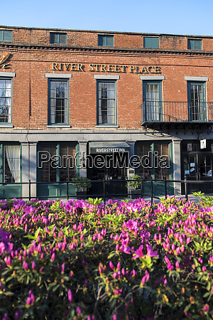 usa georgia savannah river street place