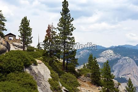 usa california yosemite national park stone