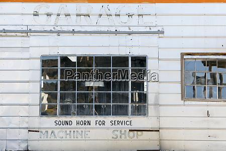 machine shop building exterior goldfield nevada