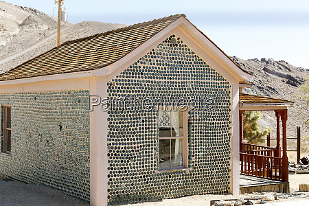 house made of bottles circa 1906