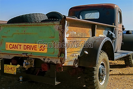 rusted antique truck navajo nation new