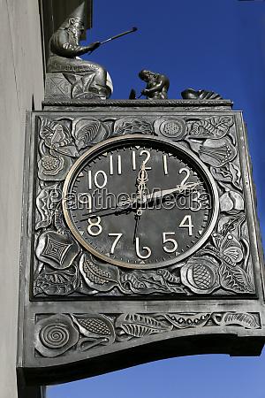 ornate clock new york city ny