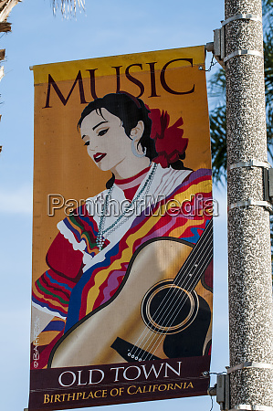 banner in old town san diego