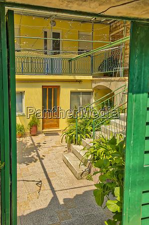 croatia stari grad residential private courtyard