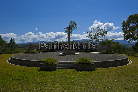new zealand war cemetery on the