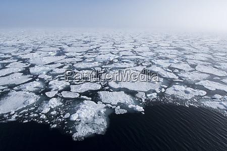 norway barents sea svalbard nordaustlandet ice