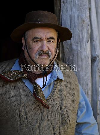 argentina elderly gaucho
