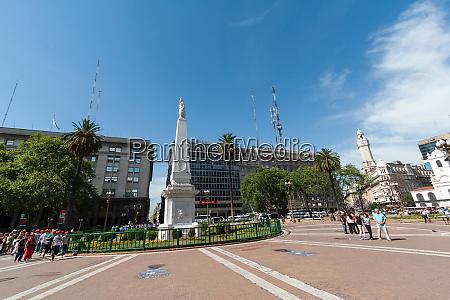 plaza de mayo location of many