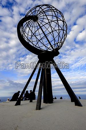 globe monument north cape honningsvag