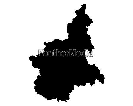 map of piedmont