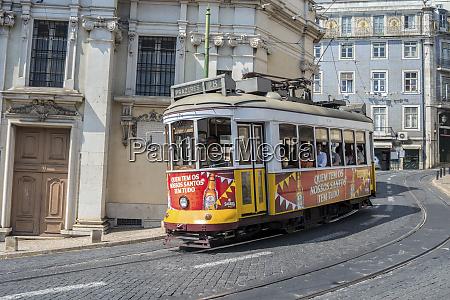 portugal lisbon trolley 28
