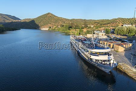 portugal riverboat docked at barca dalva