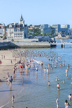 europe portugal cascais ribeira beach
