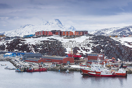 greenland nuuk commercial port