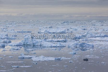 greenland, , disko, bay, , ilulissat, , elevated, view - 27868512