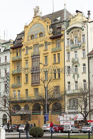 czech republic prague grand hotel europa