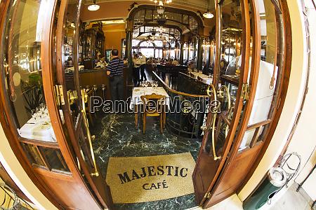 portugal porto famous majestic cafe wide