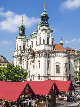 czech republic prague domes of the