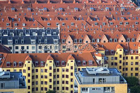 overlooking the rooftops of copenhagen
