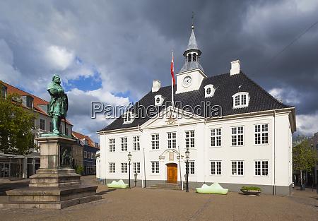 denmark jutland randers town hall