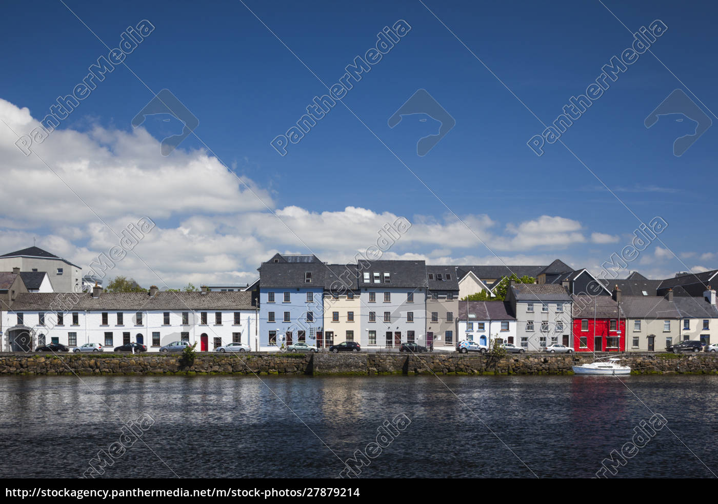 ireland, , county, galway, , galway, city, , port - 27879214