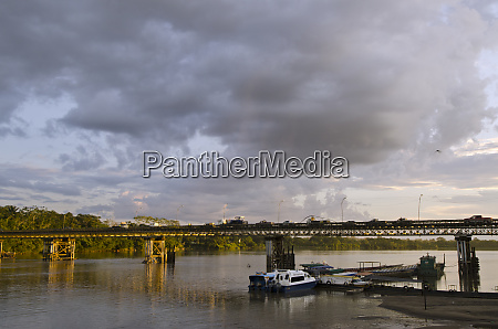old bridge crossing napo river now