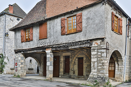 france cajarc historic stone house